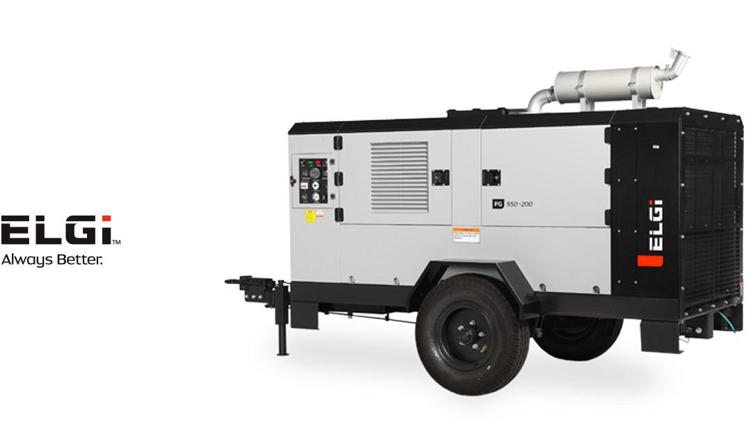 Compresores portátiles con motor diesel y eléctrico